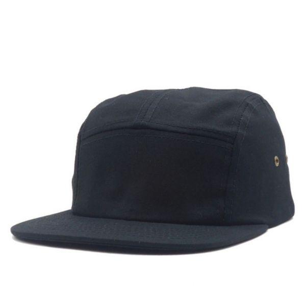 b08f41bb7cf4 Gorra plana Negra diseño Original Verano Hombre Colección Formal