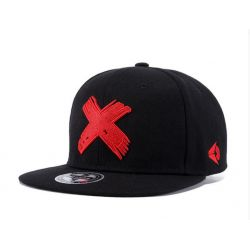 Gorra plana bordado Cruz Pintada Distintos colores Hip Hop...