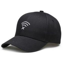Gorra con visera curvada Grabado Wifi 3D de la Mejor Calidad...
