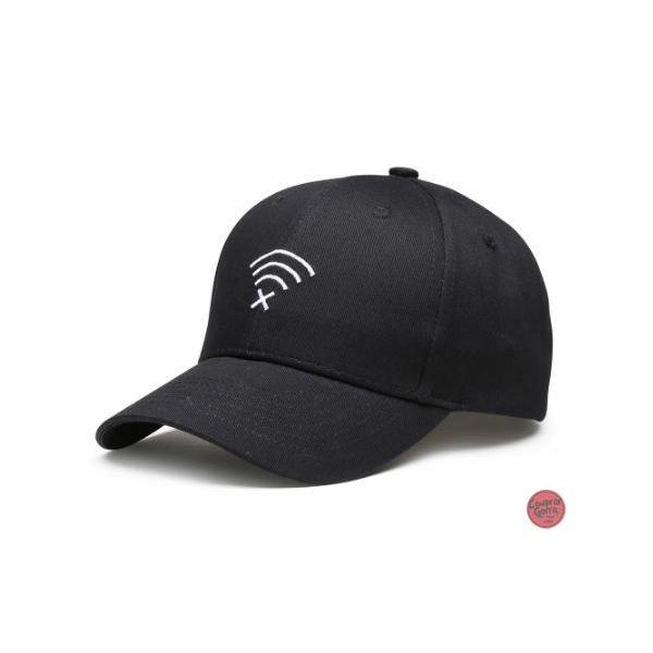 Gorra con visera curvada Grabado Wifi...