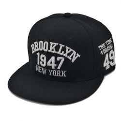 BROOKLYN 1947 New York Gorra de Béisbol con visera Plana