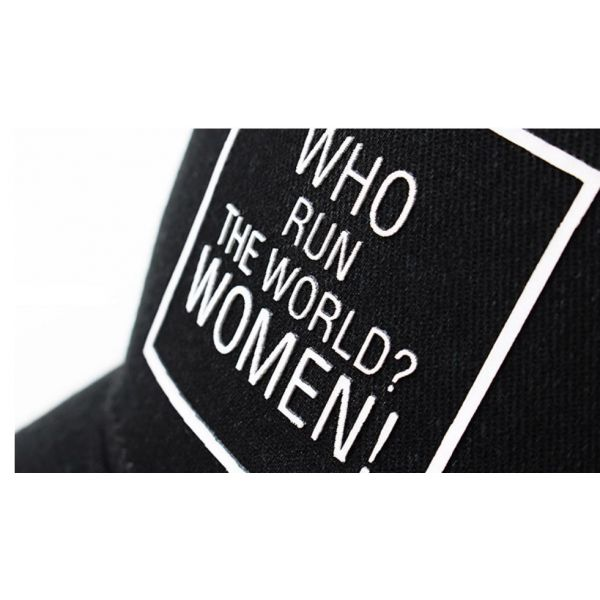 Gorra Mujer Who Run The World. WOMEN...