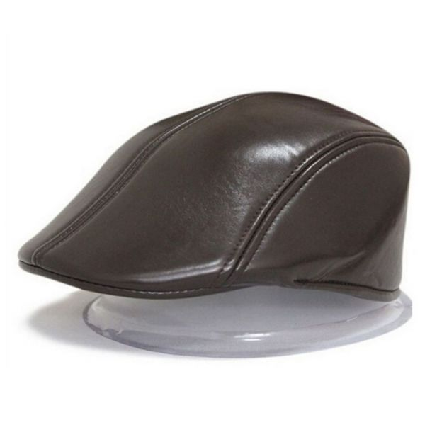 Gorra de Piel estilo Gatsby para...