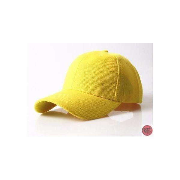 Gorra curvada estampado solido Simple...