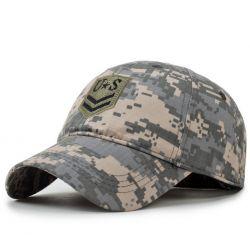 Gorra con Camuflaje Militar US 4 Tipos de camuflaje Algodón...