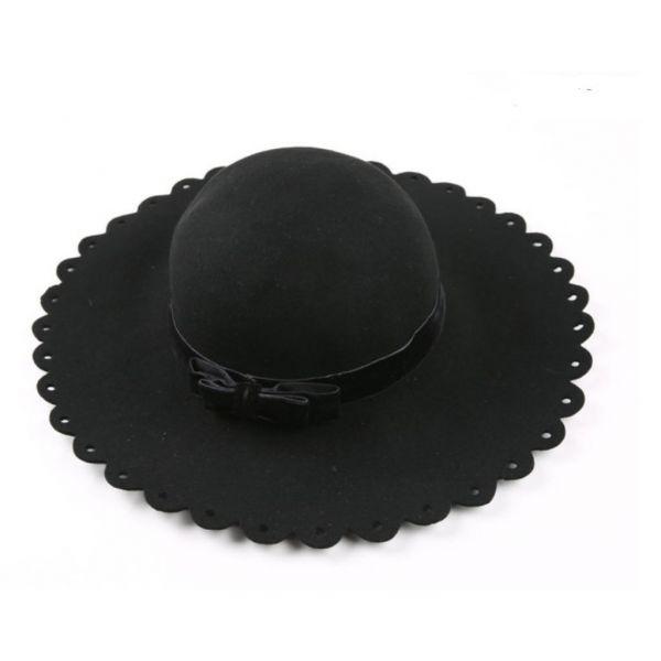 Sombrero de mujer Ala Ancha con lazo...