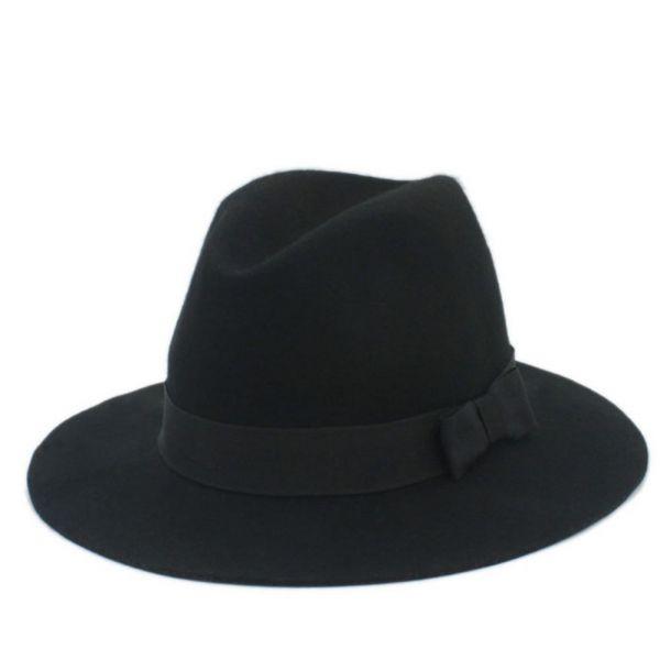Sombrero elegante para mujer Fieltro...