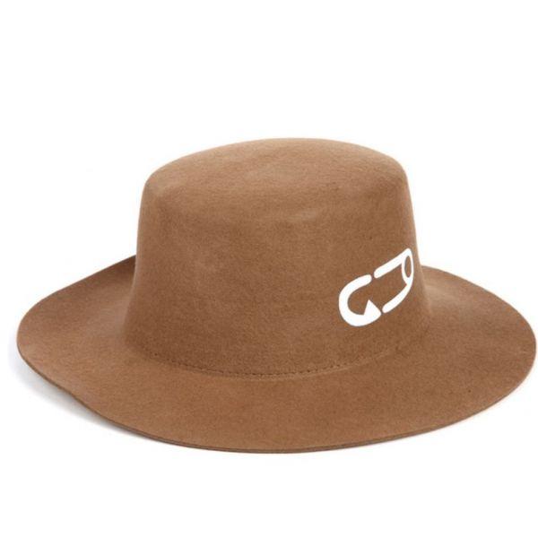 Sombrero de mujer rollo informal Lana...