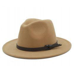 Sombrero Jazz Elegante para Hombre nueva temporada Lana...