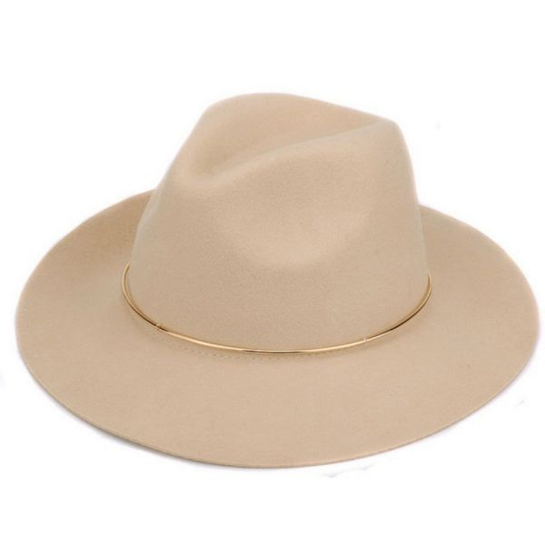 Sombrero de Mujer 100% Lana con aro...