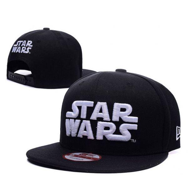 Gorra Star Wars en Negro Algodón con...