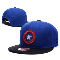 Gorra del Capitan América con visera Plana Escudo de Capitán...