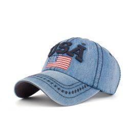 Gorra USA Bandera Americana Bordado Gran detalle Gorra...