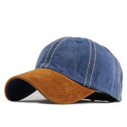 Gorra curvada con visera...