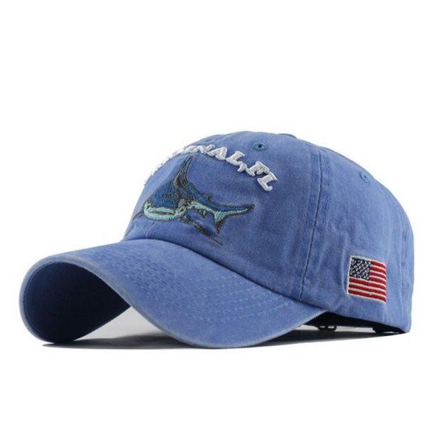 Original FL Gorra bordado tiburón...