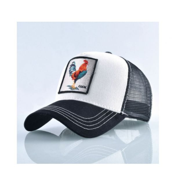 Gorra con Bordado Animal Gallo 2020...