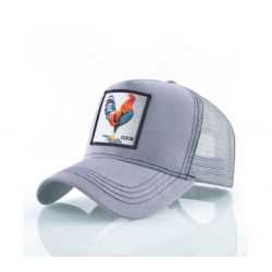 Gorra con Bordado Animal Gallo 2019 Malla transpirable...