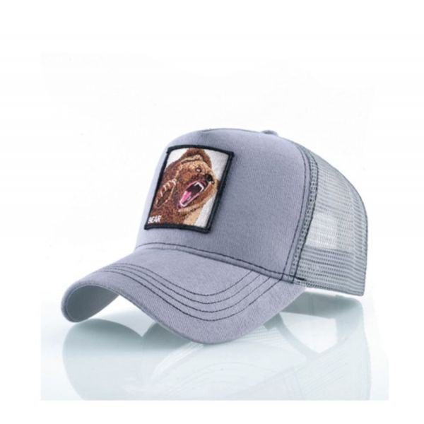 Oso Bordado Temática Animal Gorra...