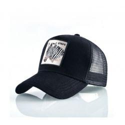 Gorra bordado Zebra Algodón...