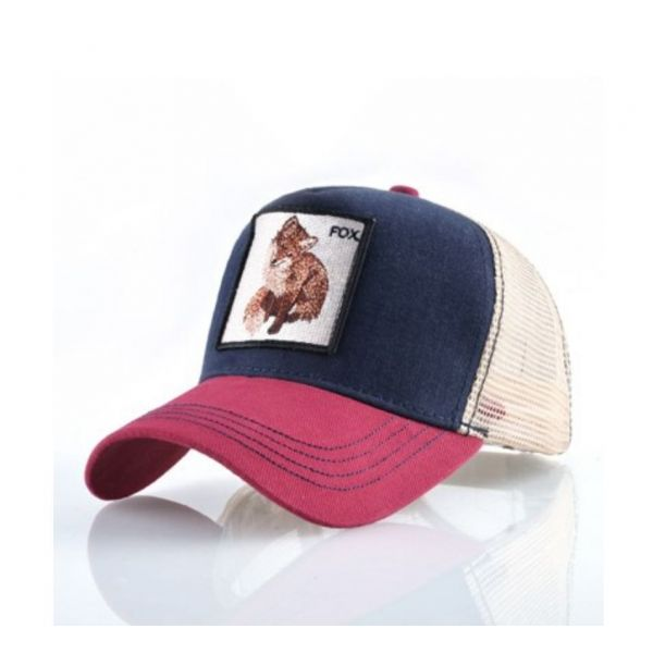 Gorra bordado Animal Zorro Suave...
