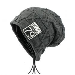 Gorro caliente de Invierno HSW Fashion 79 para Hombre a punto