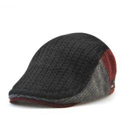 Gorra para hombre Gatsby Boina Original Otoño Capa de Punto