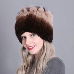Gorro para Mujer Invierno Moda Femenina Temporada Gorro Suave