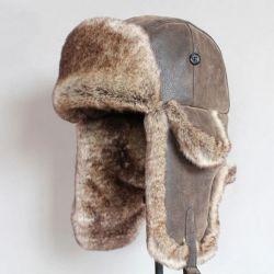 Gorro de Invierno Cazadora con Protector de orejas Pelaje y...