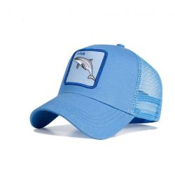 Gorra Delfín azul Marino Save Moda Tema animal Gorras Hombre...