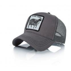 Gorra Black Sheep Oveja negra Gorra color Gris Malla...