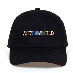 Gorra TRAP Bordado ASTROWORLD de Travis Scott visera Curvada