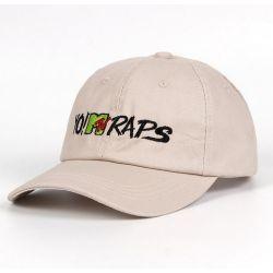 Gorra Visera Curvada YO! Mtv RAPS Algodón estilo Hip Hop