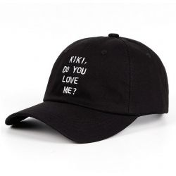 Gorra Cancón Drake Kiki Do You Love Me Letras Bordadas Gorra