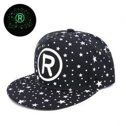 Gorra R con visera plana Estrellas estampado Luminosidad para...
