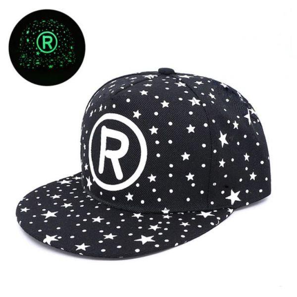 Gorra R con visera plana Estrellas...