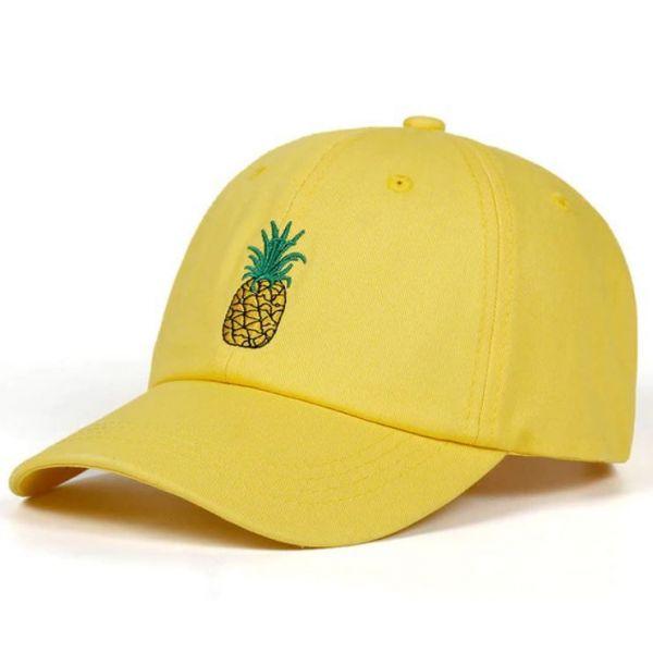 Gorra Piña bordado Frutal al estilo...