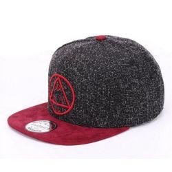 Gorra de baseball Plana con triangulo dentro de un circulo...