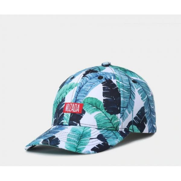 Gorra Tropical Estampado 3D Flores