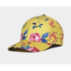 Gorra Rosa Estampada 3D sobre Amarillo