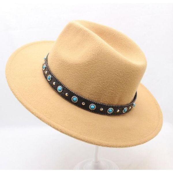 Sombrero de Ala Ancha Moda Hombre