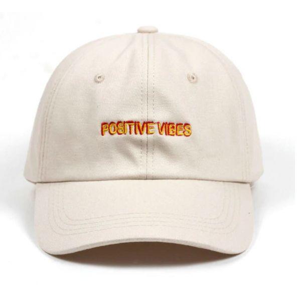 Gorra Bordado letras - Positive Vibes