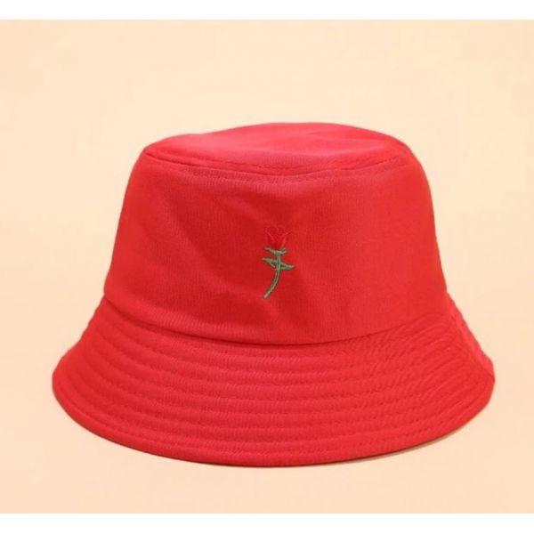 Gorro Rosa Pesca color Rojo fuerte