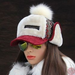 Gorra Estilo Ruso Para invierno Modelo para Mujer