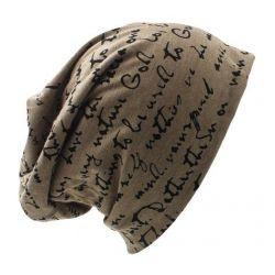 Gorro Invierno Hombre y Mujer con Estampado manuscrito...