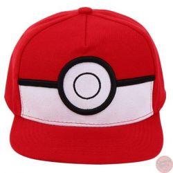 Gorra Visera Plana Pokeball Pokemon