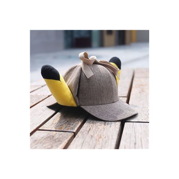 Gorra Detective Pikachu