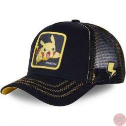 Gorras de Pokemon Pikachu Gengar Pokeball Psyduck