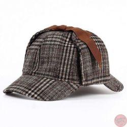 Gorra Sherlock Holmes sombrero de Detective Unisex Cosplay...