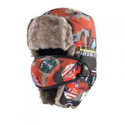 Gorro para esquiar Estilo Ruso Mascara de Cara estilo Casual...