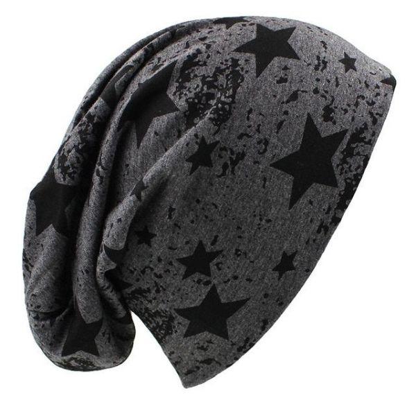 Gorro Invierno Estrellas Estampadas